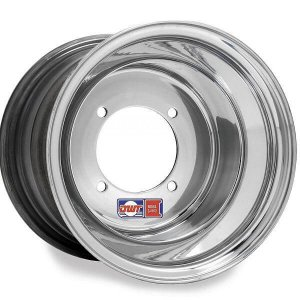 Douglas wheels-Red label-Silver polished