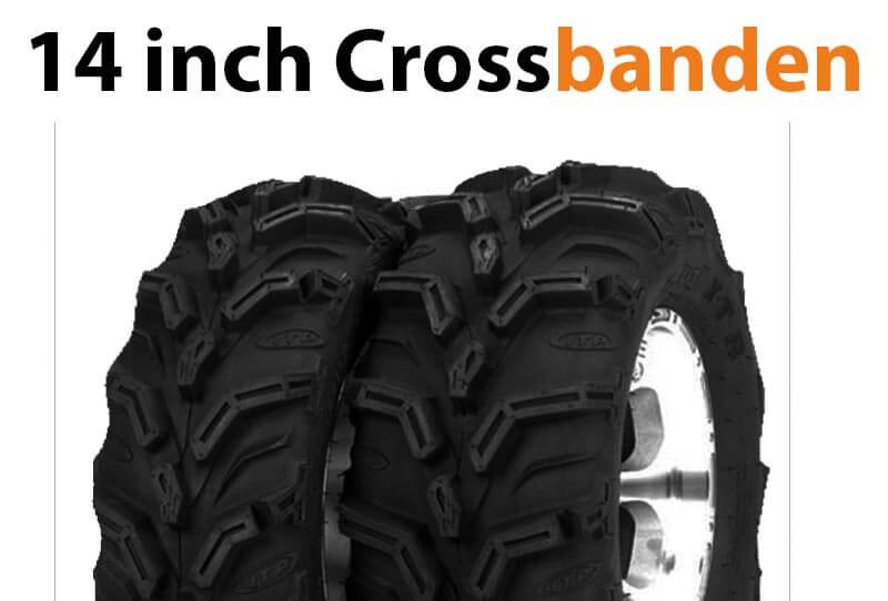 14 inch quad crossbanden