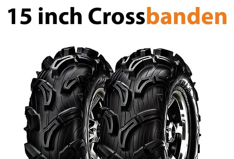 15 inch quad crossbanden