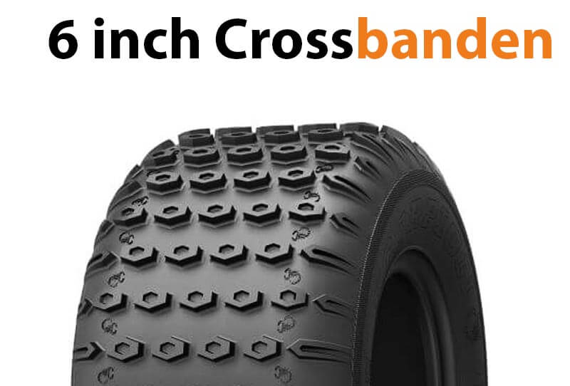 6 inch quad crossbanden