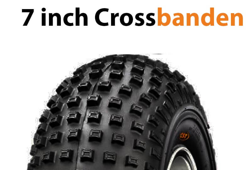 7 inch quad crossbanden