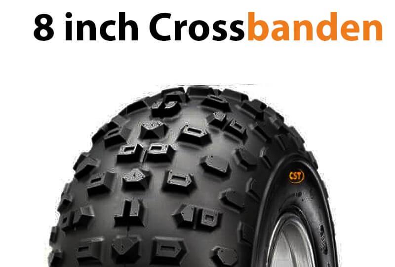 8 inch quad crossbanden