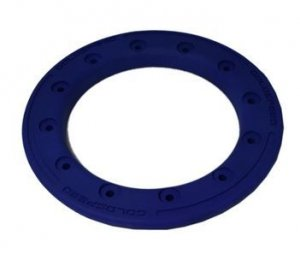 Beadlock ring goldspeed blue poly