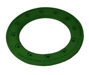 Beadlock ring goldspeed green poly