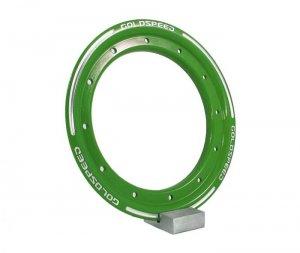 Beadlock ring goldspeed green steel