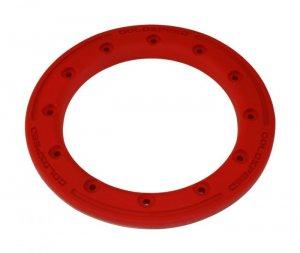 Beadlock ring goldspeed red poly
