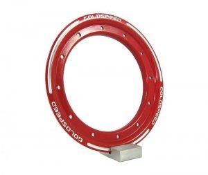 Beadlock ring goldspeed red steel
