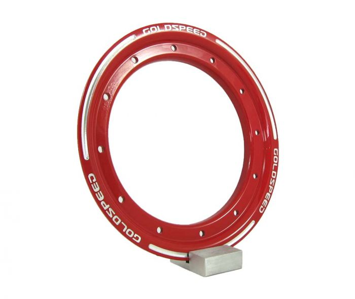 Beadlock ring goldspeed red steel