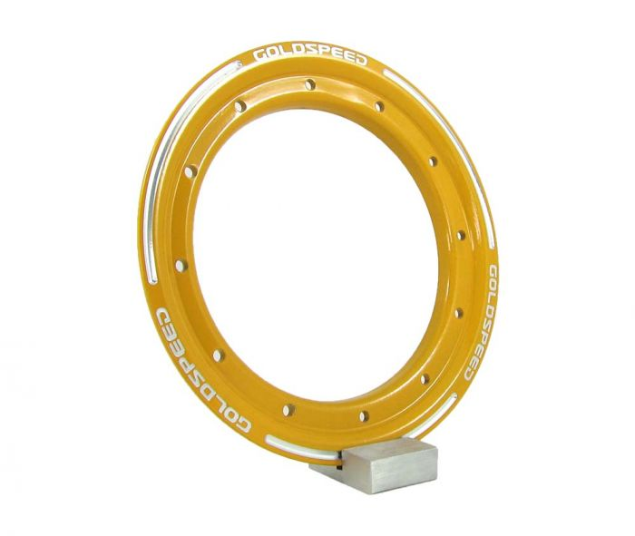 Beadlock ring goldspeed yellow steel