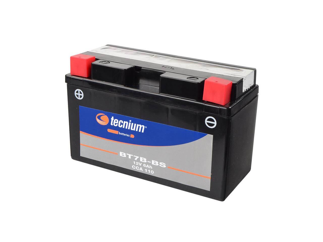 TECNIUM BT7B-BS accu met zuurpack